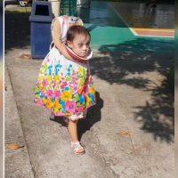 [VIDEO] ¡Una crack! Pequeña en Filipinas se volvió viral con este espectacular disfraz de Halloween